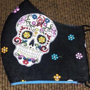 Adult día de los muertos mask Halloween